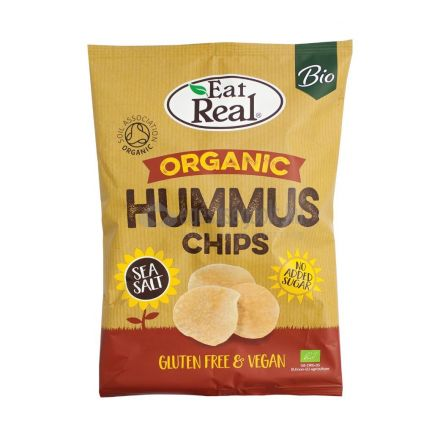 Bio eat real hummus chips tengeri sós 100 g