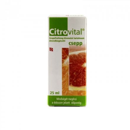 Citrovital grapefruitmag csepp 25 ml