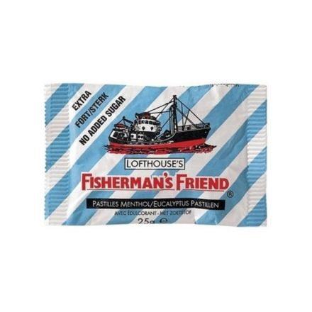 Fishermans friend cukorka kék 25 g
