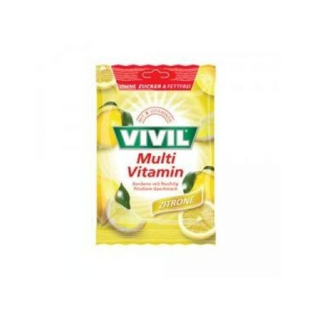 Vivil multivitamin lemon cukor 60 g