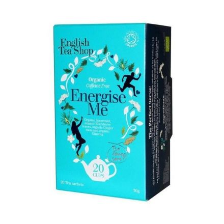 English tea shop 20 bio wellness tea energise me 20 filter