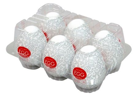 TENGA Egg Keith Haring Party válogatás (6db)