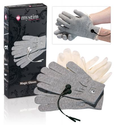 mystim Magic Gloves - elektro kesztyű (1pár)