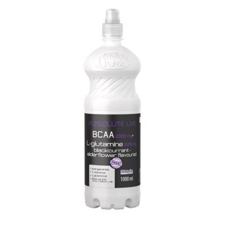 Absolute bcca+l-glutamine feketeribizli ital 1000 ml