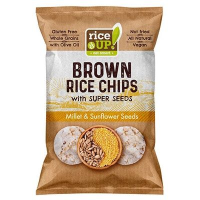 Rice up barnarizs chips köles-napraforgó 25 g