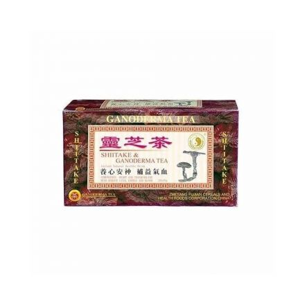 Dr.chen shiitake inst. Ganoderma tea 20 filter