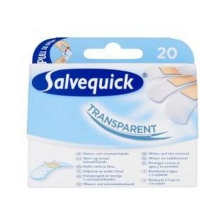 Salvequick sebtapasz transparent 20 db