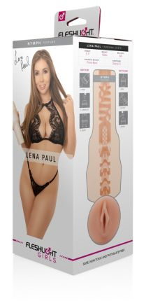 / Fleshlight Lena Paul Nymph - élethű vagina